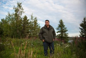 Steven Nitah, a former tribal chief and negotiator for the Łutsël K'é' Dene First Nation.Credit...Pat Kane