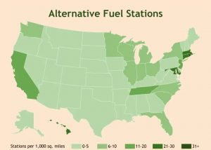 Availability of Alternative Fuels